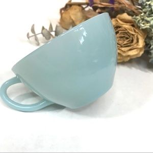 Vintage Fire King Blue Azurite Teacup